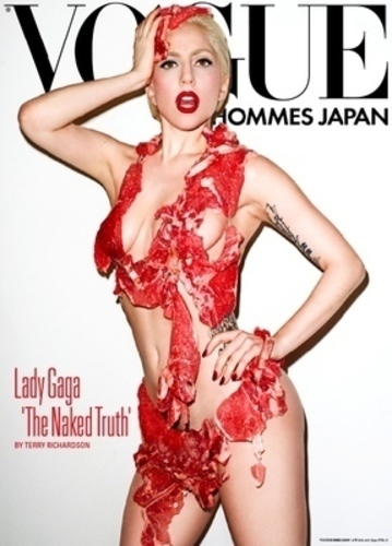 Lady Gaga na obálce Vogue