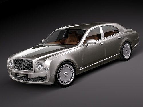 Automobil Bentley Mulsanne